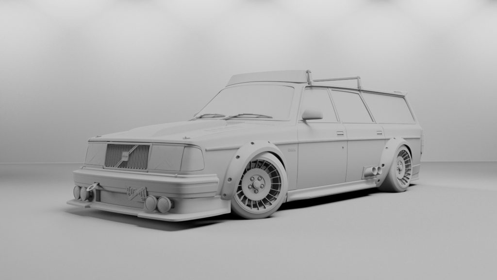 3d Rendering, Render, Animation, tuner, volvo, volvo 240, visualization, automotive animation, automotive visualization, industrial animation, industrial visualization,VR, virtual reality, product rendering, CGI, design, michigan, west michigan, grand rapids