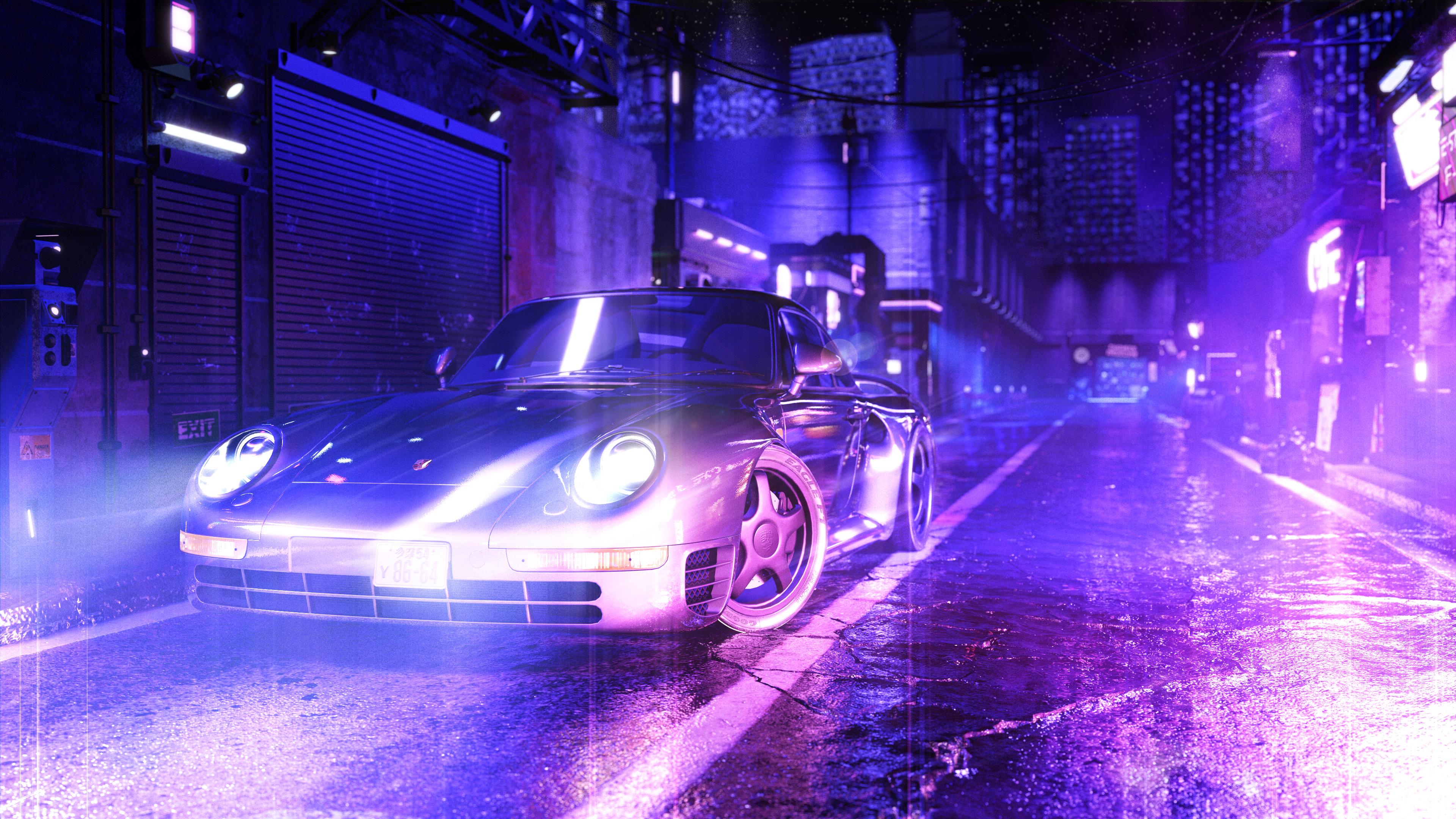 3d Rendering, Render, Animation, tuner, cyberpunk, porsche, porsche 959, visualization, automotive animation, automotive visualization, industrial animation, industrial visualization,VR, virtual reality, product rendering, CGI, design, michigan, west michigan, grand rapids